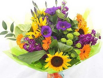 «Summer meadow» Present this wonderful summer bouquet to your loved ones. In the winter it will remind about warm summer days, summer will bring freshness to your...